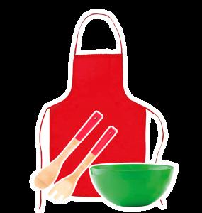 Kit cocinero para niños. Regalos para celebrar el día de los niños en tu empresa