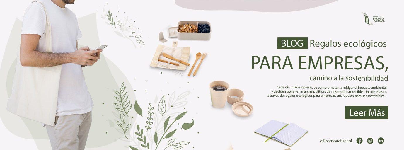 Banner blog regalos ecólogicos para empresas